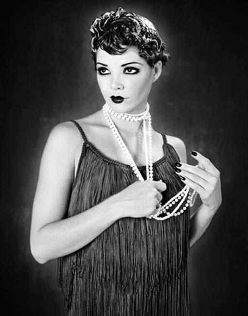 flapper-makeup