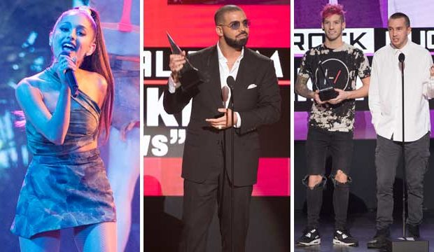 AMAS // the best and worst dressed of the 2016 American Music Awards