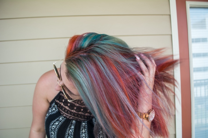 Hair // what you should know before getting rainbow hair